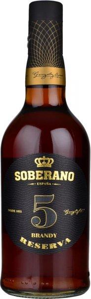 Soberano 5 Solera Reserva Brandy 70cl