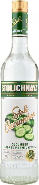 Stoli Cucumber Vodka (Stolichnaya) 70cl