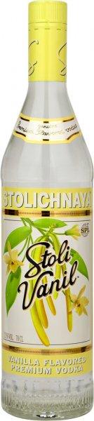 Stoli Vanilla Vodka (Stolichnaya) 70cl