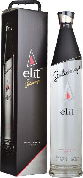 Stolichnaya Elit Vodka 3 litre