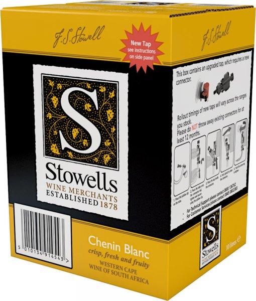 Stowells Chenin Blanc, South Africa 10 litre
