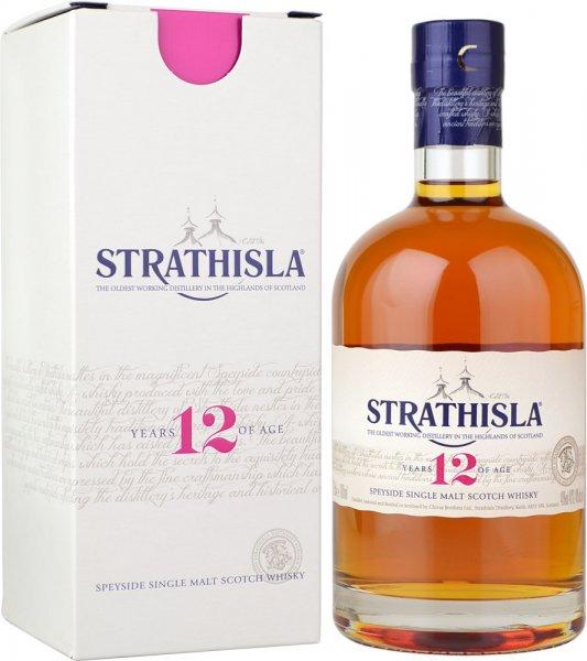 Strathisla 12 Year Old Single Malt Scotch Whisky 70cl