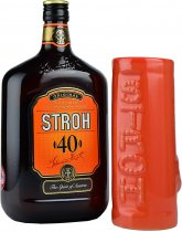 Stroh 40 Austrian Inlander Rum 70cl + FREE Mug