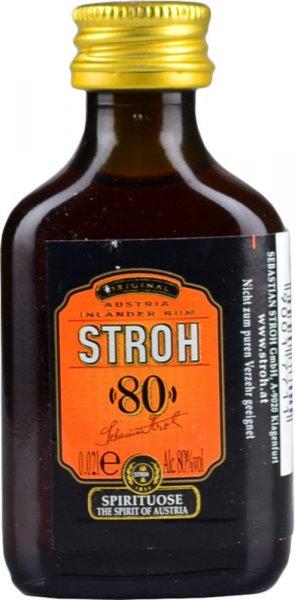 Stroh 80 Original Rum Miniature 2cl