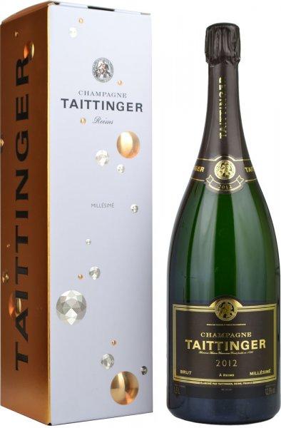 Taittinger Brut Millesime Vintage 2012 Champagne Magnum (1.5 litre) in Branded Box