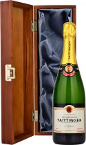 Taittinger Brut NV Champagne 75cl in Wood Box (LH)