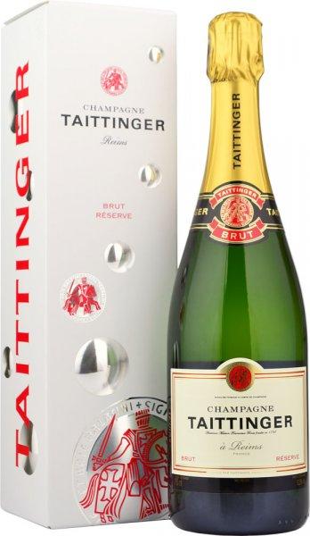 Taittinger Brut Reserve NV Champagne 75cl in Taittinger Box