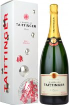 Taittinger Brut Reserve NV Champagne Magnum (1.5 litre) in Branded Box