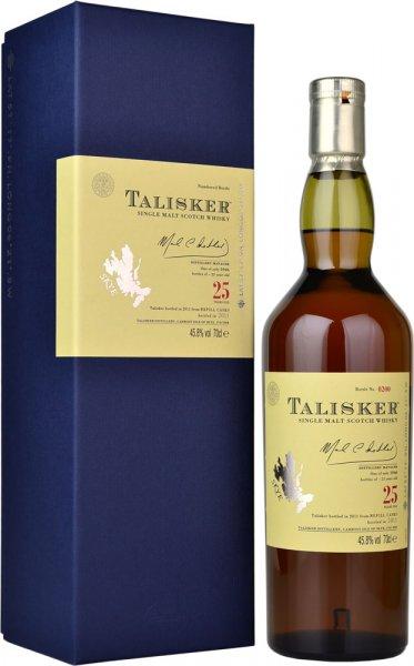 Talisker 25 Year Old Bot.2011 Single Malt Whisky 70cl