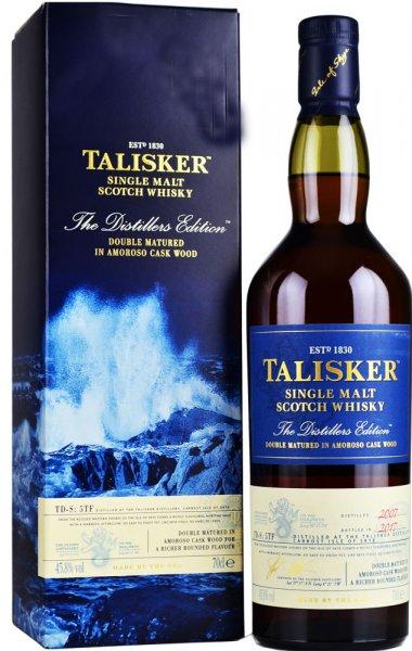 Talisker Distillers Edition 2007 (Bottled 2017) Amoroso Cask 70cl