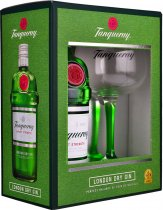 Tanqueray Export Strength Gin 70cl & Copa Glass Gift Pack