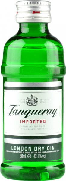 Tanqueray Export Strength London Dry Gin (43.1%) Miniature 5cl