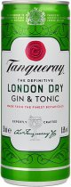 Tanqueray London Dry Gin & Tonic Can 250ml