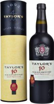 Taylors 10 Year Old Tawny Port 75cl in Gift Tube