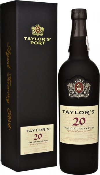 Taylors 20 Year Old Tawny Port 75cl in Taylors Box