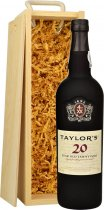Taylors 20 Year Old Tawny Port 75cl in Wood Box (SL)