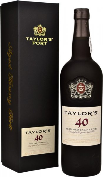 Taylors 40 Year Old Tawny Port 75cl in Taylors Box