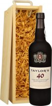 Taylors 40 Year Old Tawny Port 75cl in Wood Box (SL)