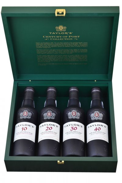 Taylors Century of Port 4 x 37.5cl