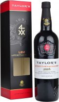 Taylors Late Bottled Vintage Port 2015 75cl in Taylors Box