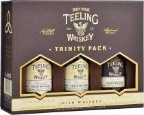 Teeling Trinity Collection Miniature Gift Pack 3 x 5cl