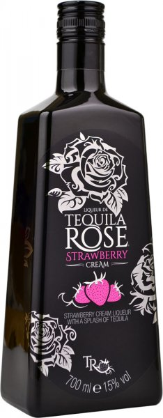 Tequila Rose Strawberry Cream Liqueur 70cl