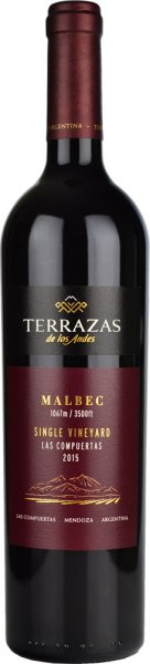 Terrazas Single Vineyard Las Compuertas Malbec 2014/2015 75cl