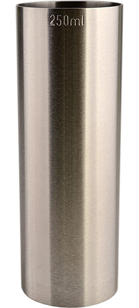 Thimble Bar Measure CE 250ml - Stainless Steel