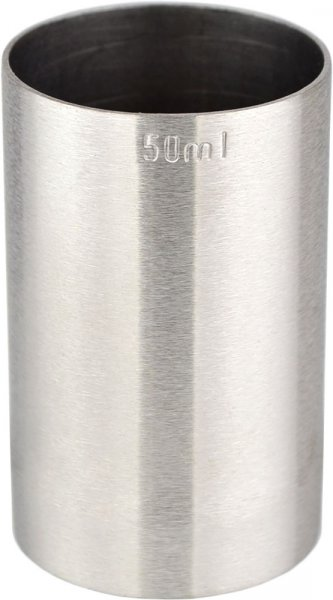 Thimble Bar Measure CE 50ml / Double Shot - Stainless Steel