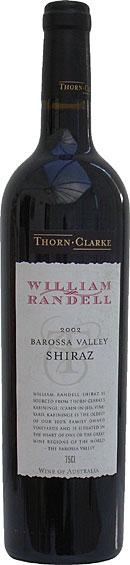 Thorn Clarke William Randell Shiraz 75cl