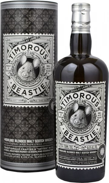 Timorous Beastie - Highland Blended Malt Scotch Whisky 70cl