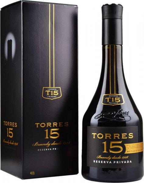 Torres 15 Reserva Privada Brandy 70cl