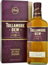 Tullamore Dew 12 Year Old Special Reserve Irish Whiskey 70cl