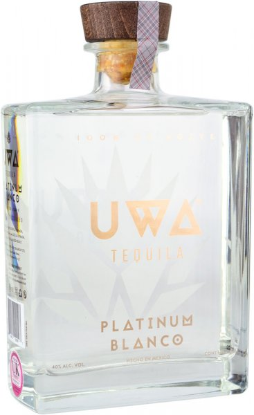 Uwa Platinum Blanco Tequila 70cl