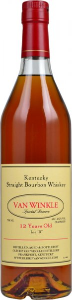 Van Winkle 12 Year Old Special Reserve Bourbon 75cl