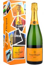 Veuve Clicquot Brut NV Champagne 75cl in Limited Edition UK Box