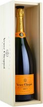 Veuve Clicquot Brut NV Champagne Magnum 1.5 litre in Veuve Wood Box