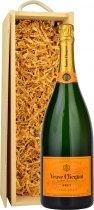 Veuve Clicquot Brut NV Champagne Magnum (1.5 ltr) in Wood Box
