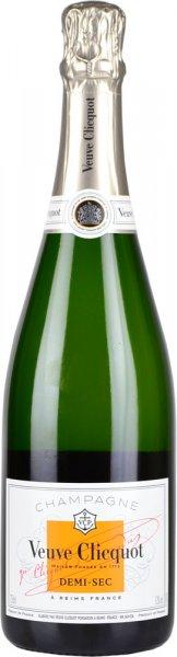 Veuve Clicquot Demi-Sec NV Champagne 75cl