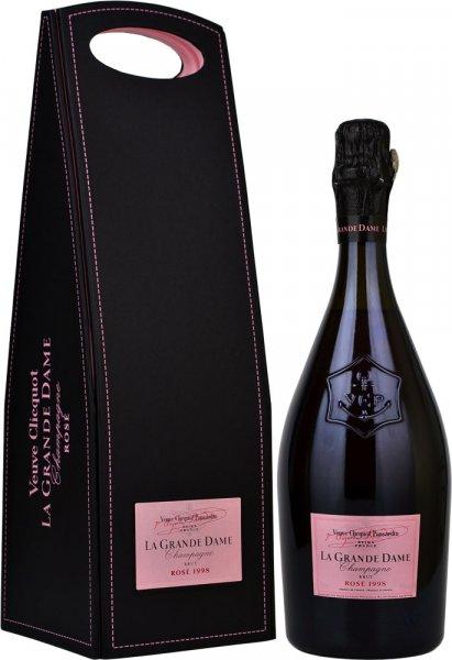 Veuve Clicquot La Grande Dame Rose 1998 Champagne 75cl in Veuve Box