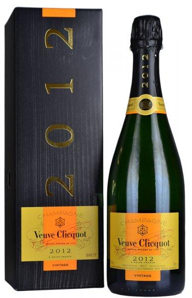 Veuve Clicquot Vintage Brut 2012 Champagne 75cl in Veuve Box