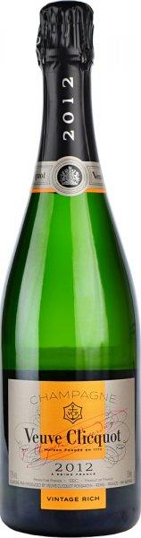 Veuve Clicquot Vintage Rich 2012 Champagne 75cl