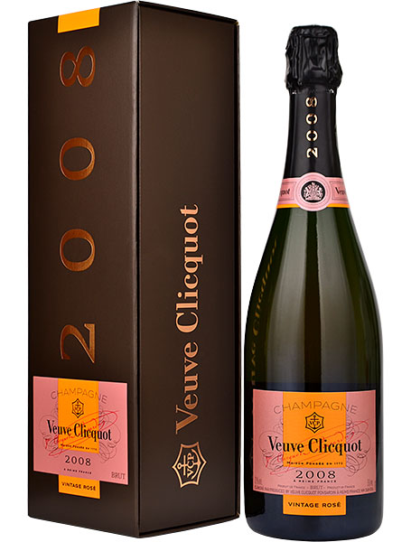 Veuve Clicquot Vintage Rose 2012 Champagne 75cl in Veuve Box