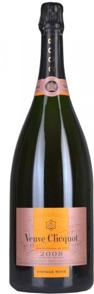 Veuve Clicquot Vintage Rose 2008 Champagne Magnum (1.5 litre)