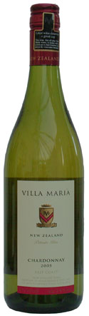 Villa Maria Private Bin Chardonnay East Coast 2005 75cl