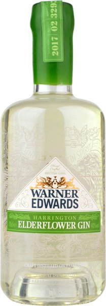 Warner Edwards Elderflower Gin 70cl