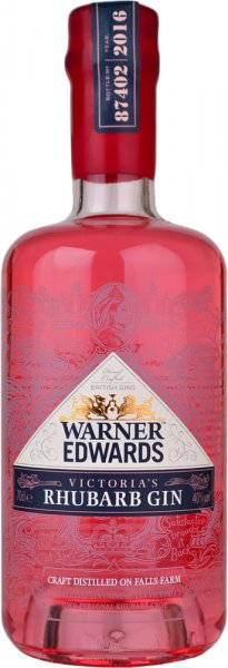 Warner Edwards Victoria's Rhubarb Gin 70cl