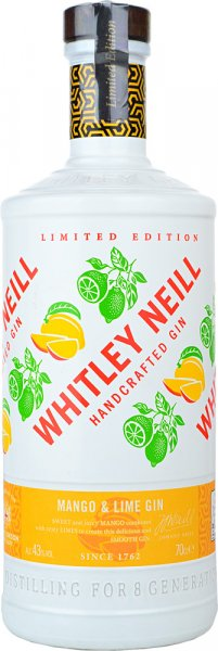 Whitley Neill Mango & Lime Gin Limited Edition 70cl