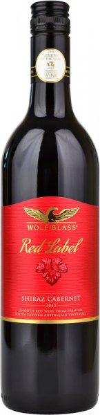 Wolf Blass Red Label Shiraz Cabernet Sauvignon 2018 75cl