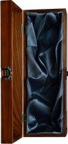 Wood Box - Luxury Hinged Silk Lined Magnum Bottle